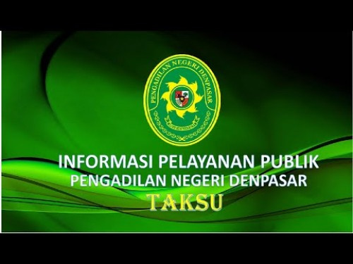 Informasi Pelayanan Publik Pengadilan Negeri Denpasar